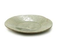 灰釉五寸平皿