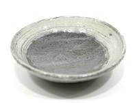 刷毛目淺碟(18)土裏山長石釉