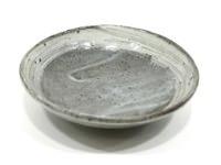 刷毛目淺碟(21)土裏山長石釉