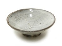 粉引醬油皿