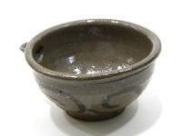 長石釉鉄絵醬料碗
