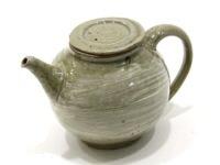 刷毛目茶壺