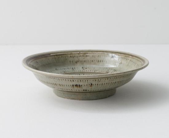 鉄文7寸浅鉢