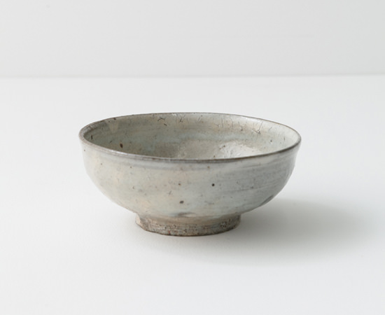 粉引5寸浅鉢
