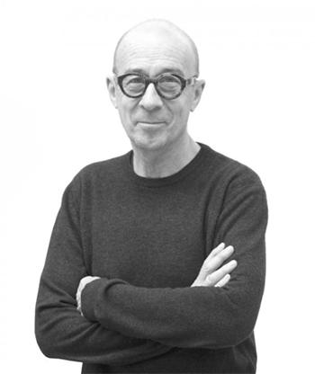Bernard Frize portrait